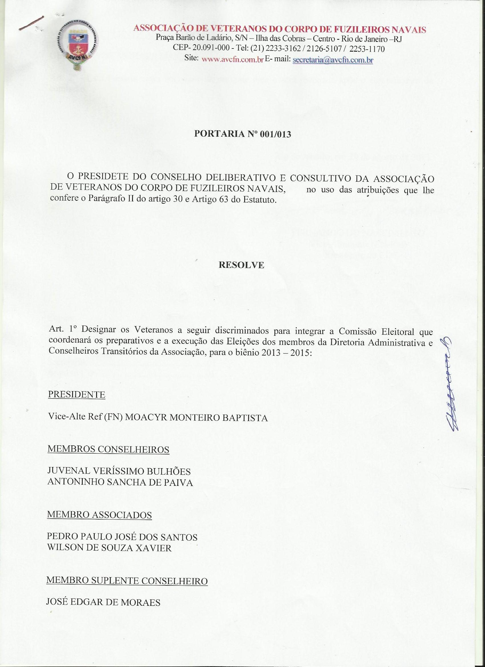 AVCFN - Associação de Veteranos do Corpo de Fuzileiros Navais 1f438612c94