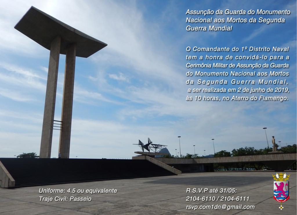 Convite Assunção da Guarda MNMSGM