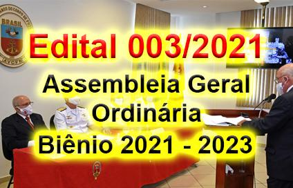 Edital de Convocação AGO - 2021